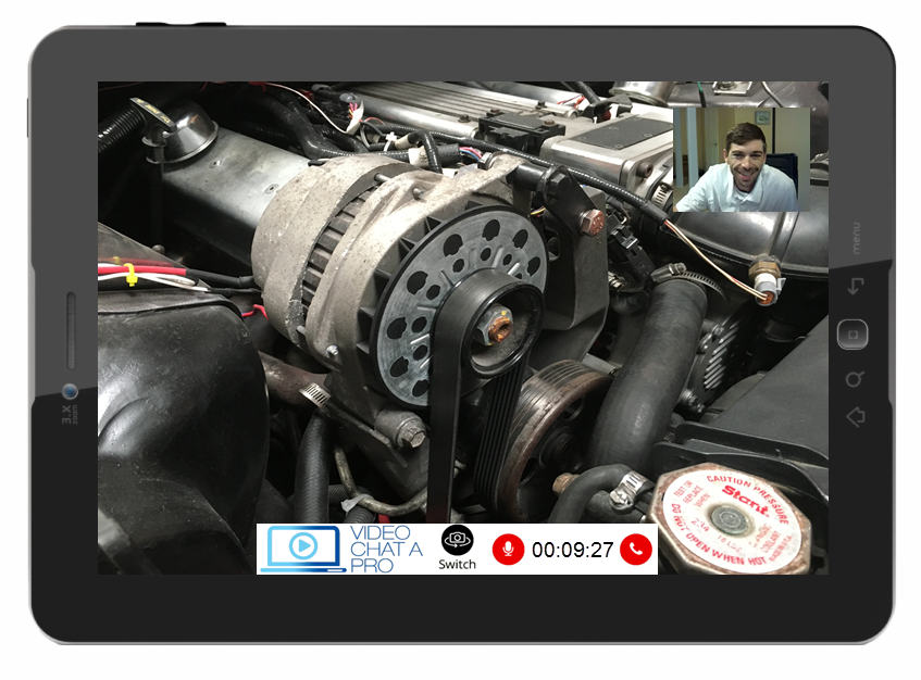 video chat mechanic
